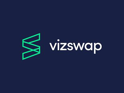 VizSwap Exploration Pt 2 vizswap saas saas branding minimal app icon typography vector branding design logo