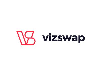 VizSwap Exploration Pt3 typography saas logo saas branding saas design logo mark graphic design design logodesign exploration logo branding saas