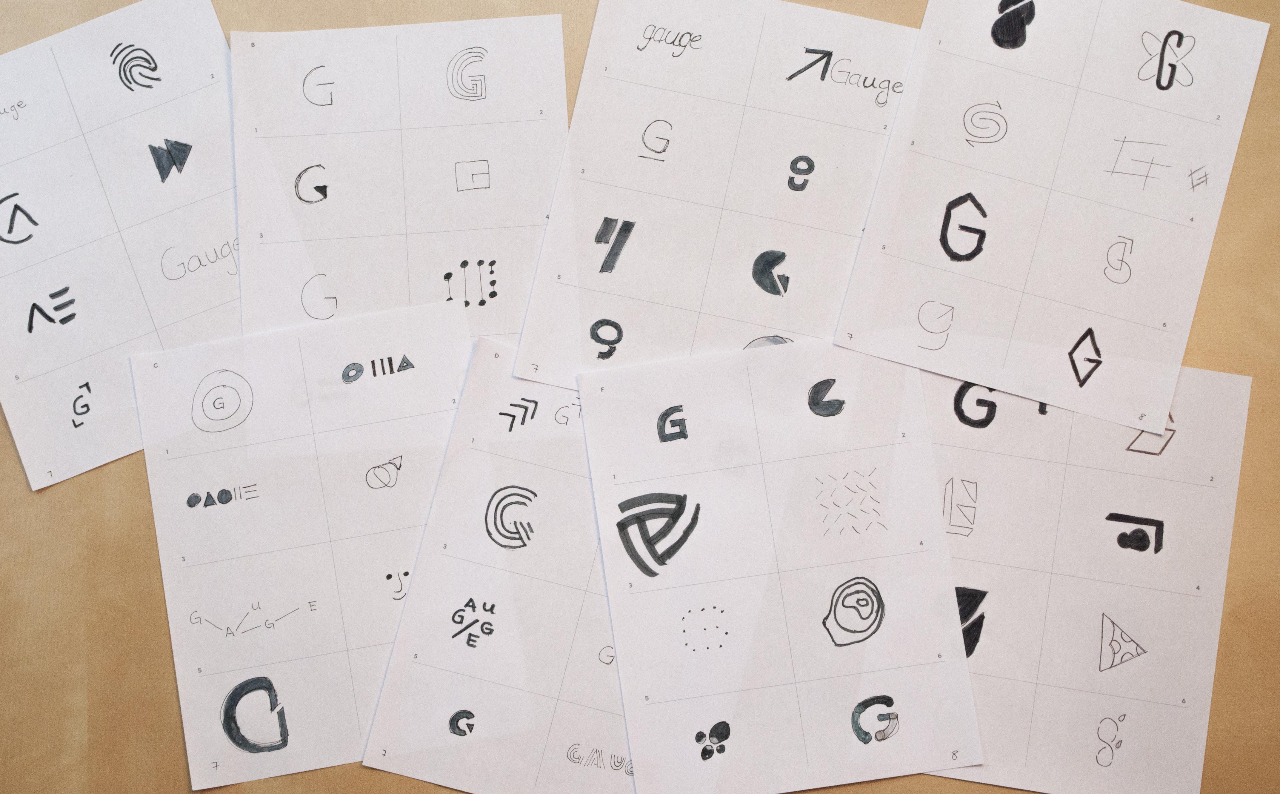 Gauge sketches