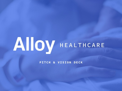 Project Alloy Pitch Deck