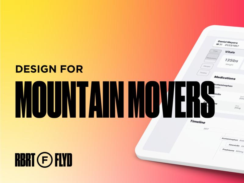 Design for Mountain Movers druk typography branding webflow portfolio ui design uxdesign web design logo personal brand personal website