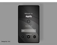 Black Design Mobile App