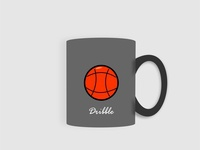 Mockup Mug Dribble