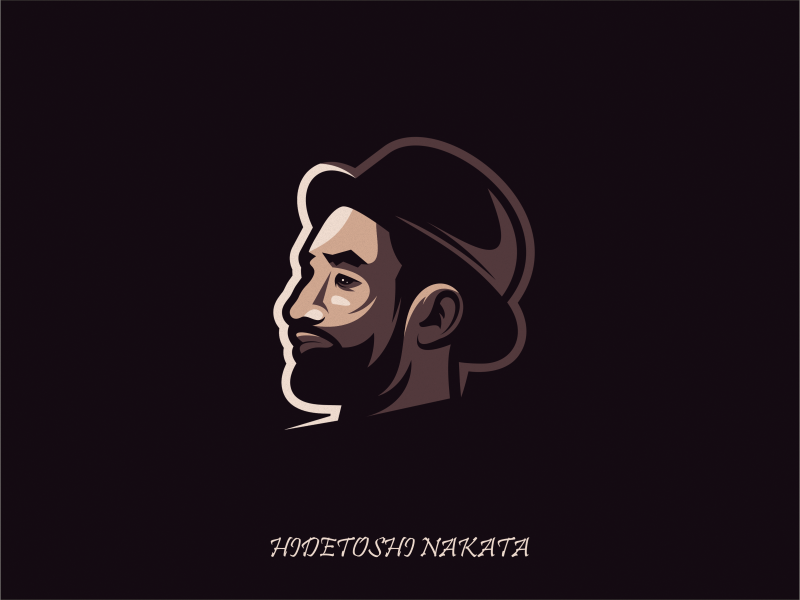 Hidetoshi Nakata by Ferrylie_Studio on Dribbble