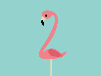 Lonely Flamingo