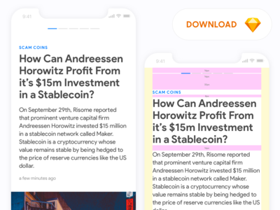 Stacks: News Article Template