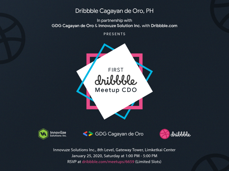 First Dribbble Meetup Cagayan de Oro CIty, Philippines design meetup