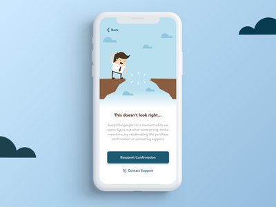 Daily UI 008: Error 404 design trends interface userexperience uiux designinpiration ui design dailyui mobile sketch ui error message error ui error 404