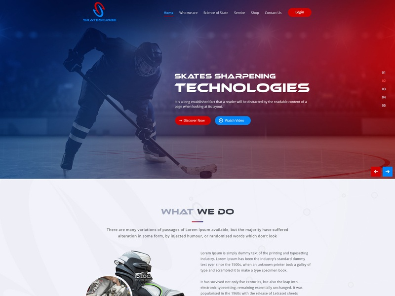 Skates cribe web design ui illustration typography esolzlogodesign skates cribe
