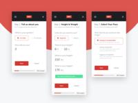 Diet Calculator App - User Initial Information