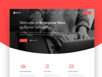 Eynon Software Landing Page