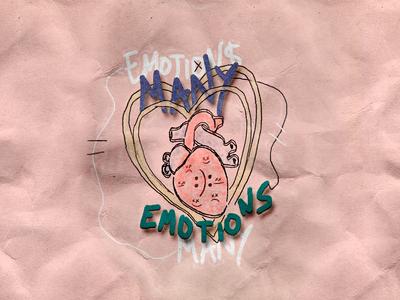 many emotions.