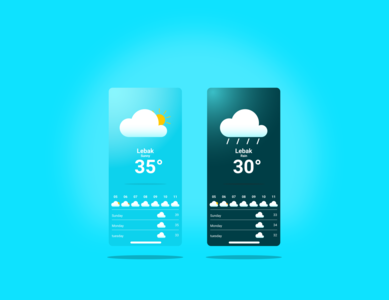 weather app application app design figma ux design ui design app ux ui