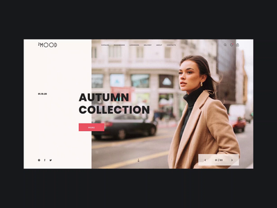 2mood store photo black mood interface slide main page animation mobile dark clean white site minimalism design motion graphic web ux ui