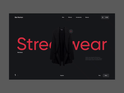 Bat Norton - Streetwear 001 clothes clothing logo bat shop store behance dribbble design graphic ux ui web typography clean dark black branding motion animation