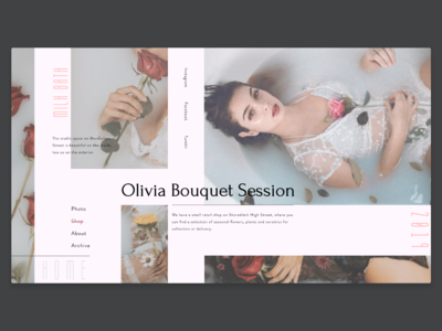Olivia Bouquet  |  Flowers shop and Photo Session Studio