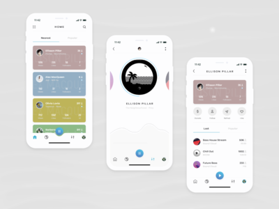 Flow - Music Stream App