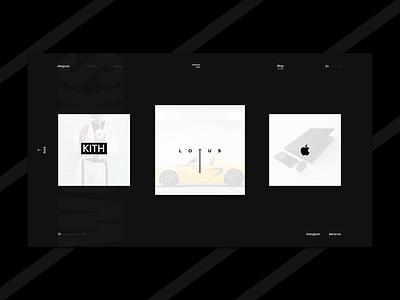 Switch Digital Studio - Portfolio Page mobile app page gallery pictures motion clean photo minimalism minimal black dark white site online ux ui graphic web design