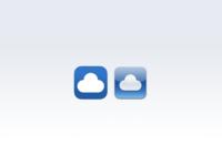 Cloudie App Icon on iOS7