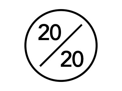 """The 20/20 Story"" - Logo logo design logo logotype personal company vector branding"