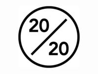 """The 20/20 Story"" - Logo 2"
