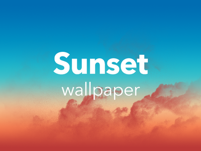 Sunset Desktop Wallpaper wallpaper summer desktop