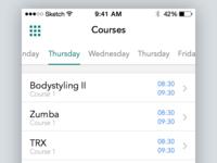 Concept Gym App