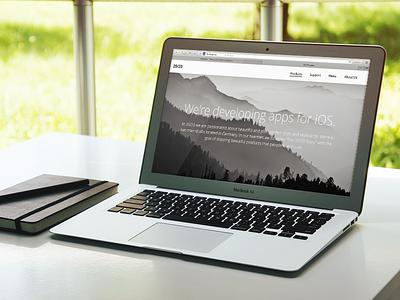 2020apps Full Website ui flat website web design minimal ui design startup