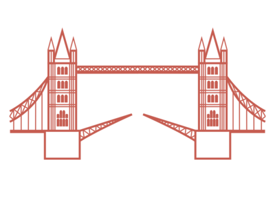 Tower Bridge Illustration london tower bridge print design poster graphic art graphic illustration