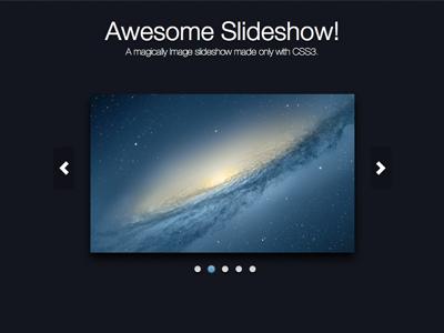 Slideshow dribbble