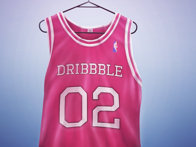 Dribbble Vest Icon / Invite Contest vest dribbble basketball icon cotton fabric pink label shirt nba hanger