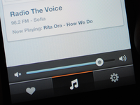iPhone Radio App