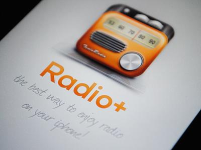 Radio App Splash Screen (@2x) radio icon iphone ios loading splash screen