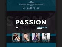 Emotions Music Website Designscroll