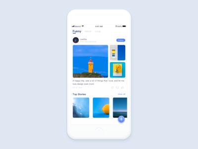 Hello Dribbble/Travel app
