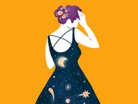 Cosmos woman