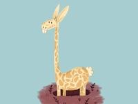 Giraffe + Rabbit = Girabbit