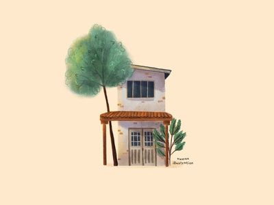 House #10 arhitecture design book illustration editorial illustration editorial art illustration building home house illustration house