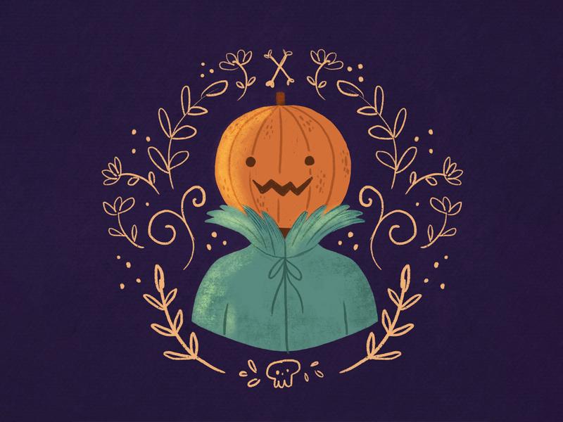 Pumpkin Man halloween design pumpkinman pumpkin halloween colorful artist children book illustration illustrator children art book illustration children illustration draw art illustration