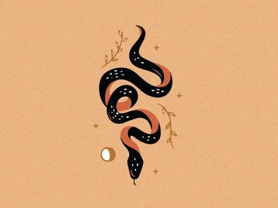 custom snake illustration for hire tattoo art tattoo design tattoos tattoo marketing small business logo icon branding design illustration