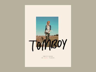 Tomboy Branding logotype branding design branding and identity typography marketing design small business handlettering typogaphy minimal logo branding