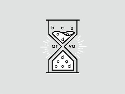Arvo emblem lettering small business logo icon branding