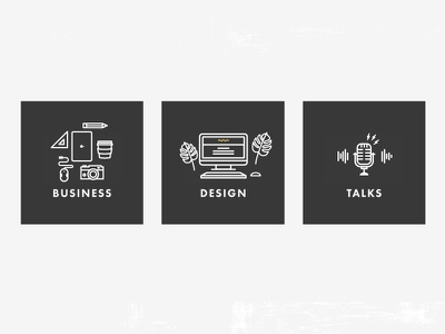 Routine Creative Icons small business logo icon branding