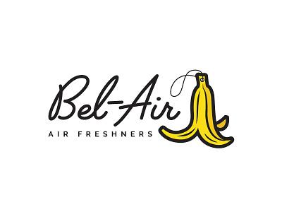 Bel-Air Air Freshners minimal line branding icon logo
