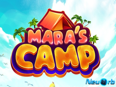 Mara's Camp ux app vector typography ui logo illustration background design game design adobe illustrator