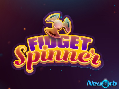 Fidget Spinner ios android icon vector ux ui typography logo app illustration game design background design adobe illustrator