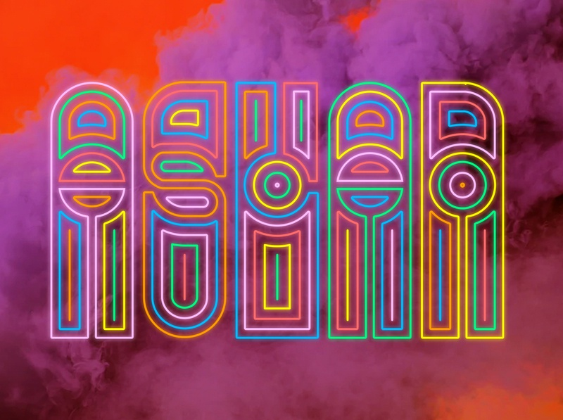 Neon Theater psychedelic aslan pnw brewery branding logo craft beer washington bellingham beer