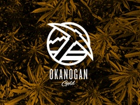 Okanogan Gold branding pnw illustration design logo marijuana cannabis