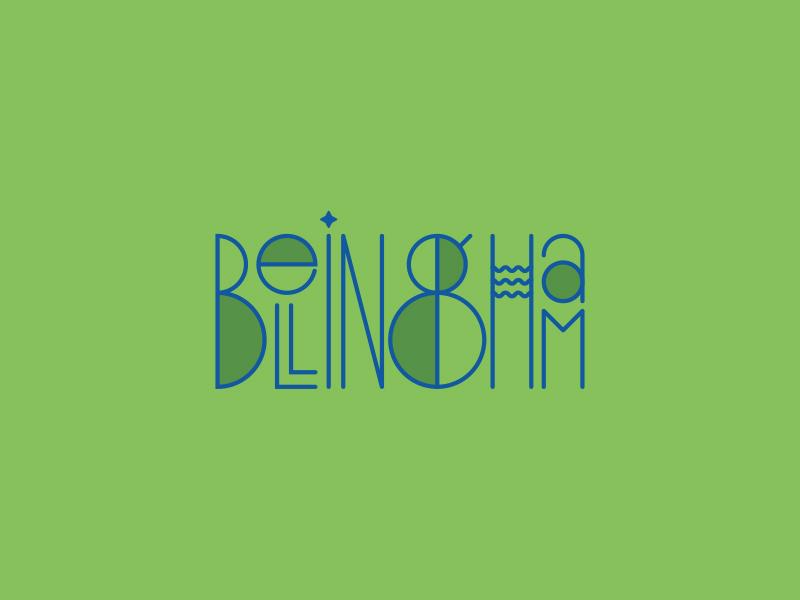Bellingham Type art deco washington pnw typography bellingham