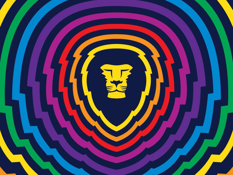 Aslan Pride roygbiv rainbow pride bellingham